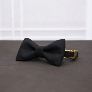 CLL Black Dog Bow Tie