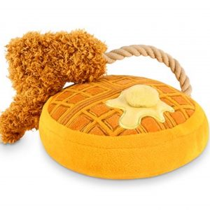 Chicken & Waffles Dog Chew Toy